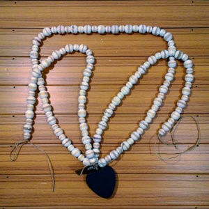 Iron Heart Wood Decorative Beads